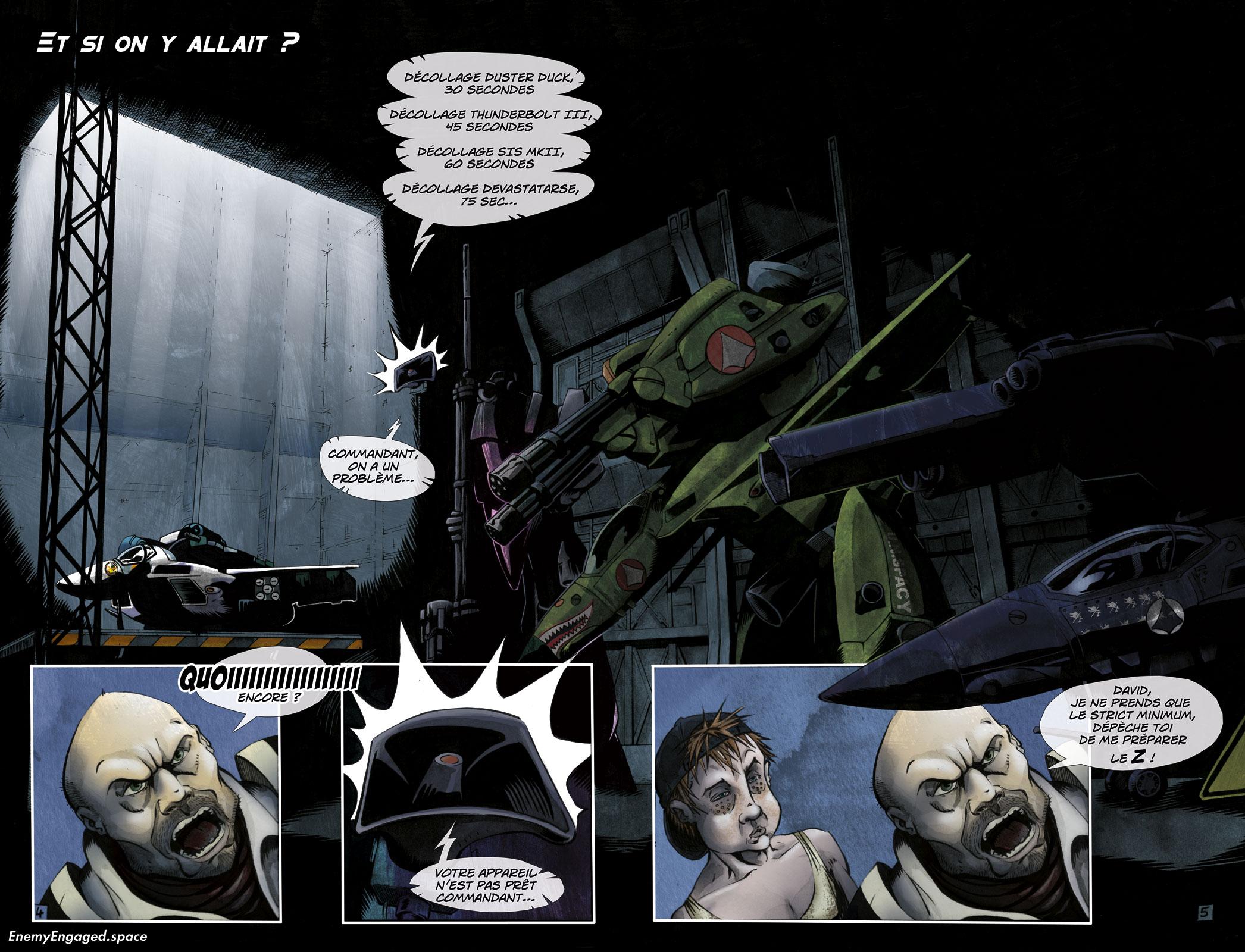 #001 : Destroid Apocalypse – 04 & 05