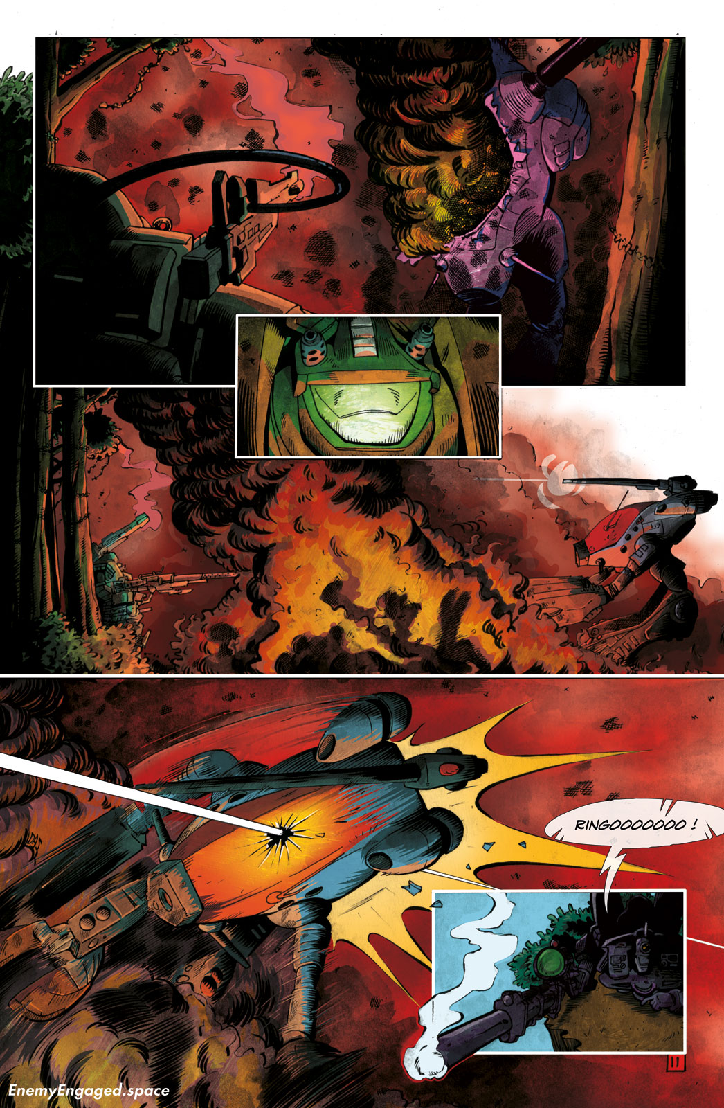 #001 : Destroid Apocalypse – 11