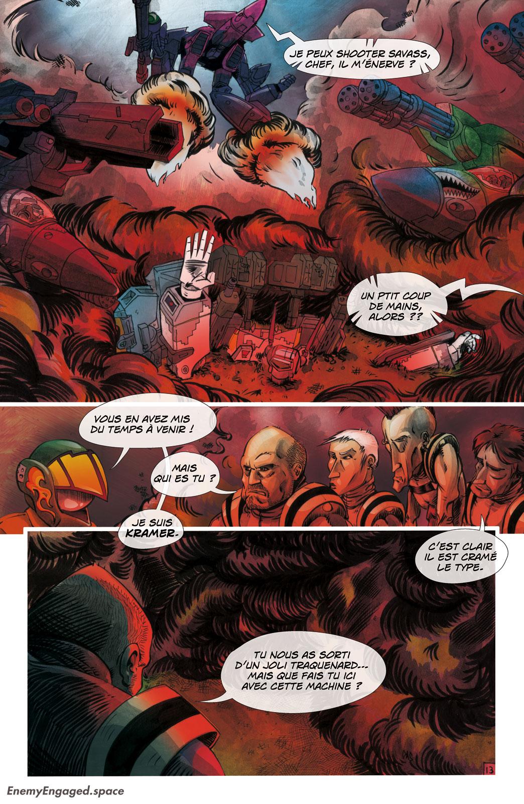 #001 : Destroid Apocalypse – 13